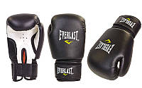 Перчатки боксерские PVC EVERLAST, MATSA, ZELART MA-0033-BK