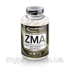 IronMaxx Повышение тестостерона ZMA100 caps