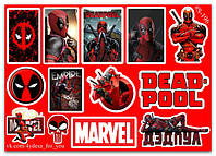 Stickers Pack Deadpool, Дедпул #196