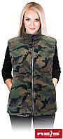 Безрукавка флисовая женская рабочая REIS Польша (флисовая рабочая одежда) VHONEY-L MO