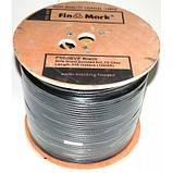 Абонентский коаксиальный кабель FinMark F660BVF black 305м, фото 2
