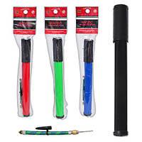 Насос MS 0117 (100шт) 12 дюймов с эластичной трубкой, ручной, 4 цвета