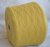Кид мохер 50%, акрил 50%, Figli di ugo Pucci Soft,желтый лимон
