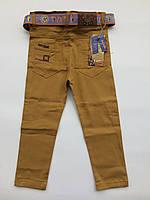 Цветные брюки-джинсы на мальчика на 1-4 года весна