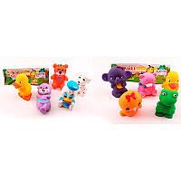 Набор детских игрушек-пищалок «Животные» 2210-56-57