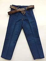Детские брюки-джинсы на мальчика весна-лето 4-7 лет, фото 1