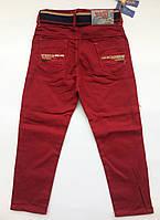 Цветные брюки-джинсы на мальчика на 1-4 года весна коттон