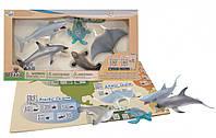Обучающий игровой набор с QR-картой Обитатели Тихого Океана Wenno (WPN1701)