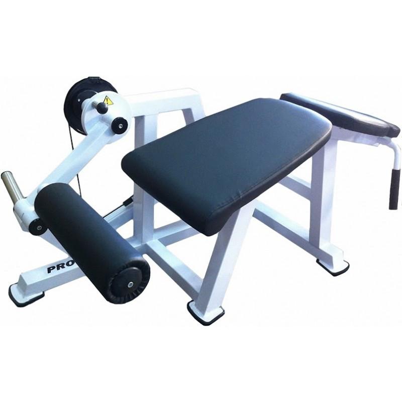 Тренажер для м'язів згиначів стегна, лежачи