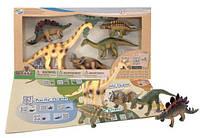 Обучающий игровой набор с QR-картой Травоядные динозавры Wenno (WHD1701)