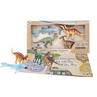 Обучающий игровой набор с QR-картой Динозавры Мелового периода Wenno (WRD1701)