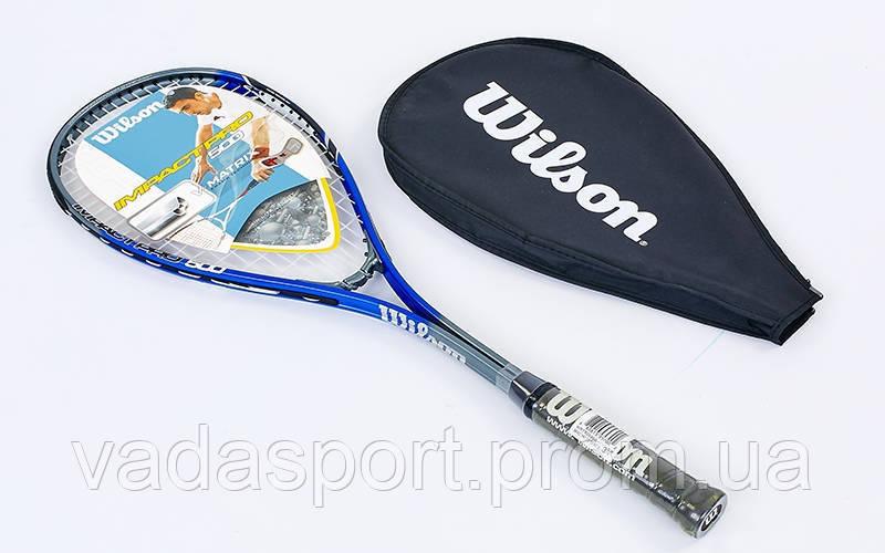 Ракетка для сквоша Wilson IMPACT PRO WRT906000 - VadaSport в Одессе