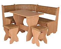 Кухонный уголок+стол+табуреты Мальта (Компанит)