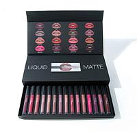 Помады матовые Huda Beauty Liquid Matte Full Collection в ассортименте