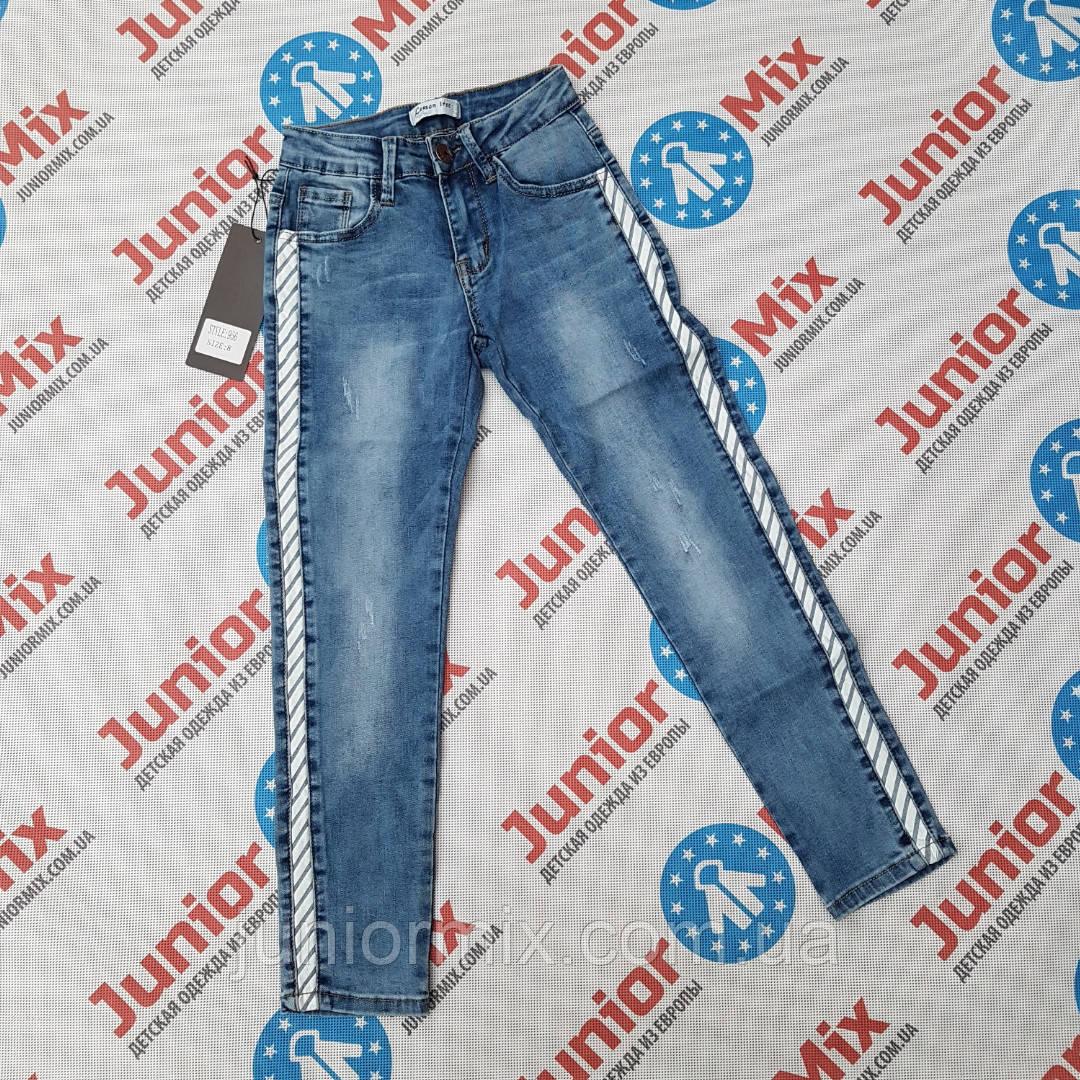 Подростковые джинсы с лампасами для девочек оптом Lemon Tree