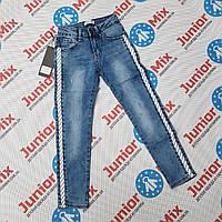 Подростковые джинсы с лампасами для девочек оптом Lemon Tree, фото 1