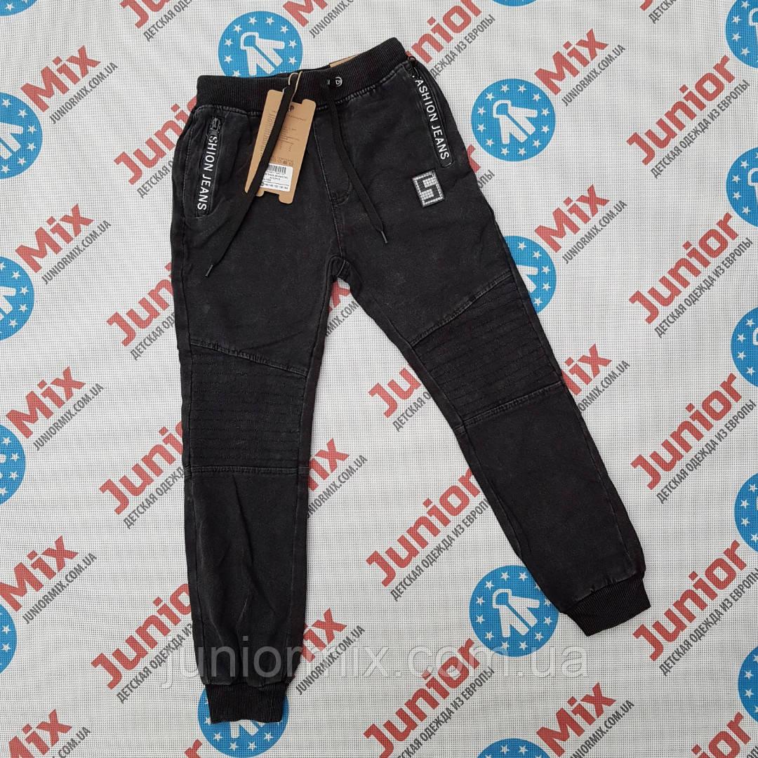 Подростковые котоновые брюки на манжете для мальчиков   оптом   GRACE