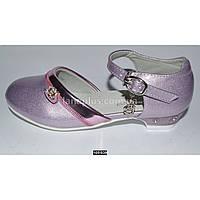 Нарядные туфли для девочки, 27 размер, праздничные туфельки на утренник