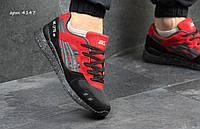 Кроссовки мужские Asics Gel Lyte III кроссовки-красные-Замша,плотная сетка,подошва пена,размеры:41-45 Вьетнам