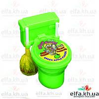 """Sour Flush Необычные конфетки Туалетики """"Зеленое яблоко"""""""