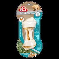 8in1 Delights Dental S кость для чистки зубов у собак с вкусом мяса (11см)