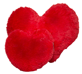 Игрушка Алина подушка Сердце 50 см красный