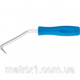 Крюк для вязки арматуры, 210 мм, пластиковая рукоятка СИБРТЕХ