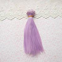 Волосы для Кукол Трессы Прямые ГЛИЦИНИЯ 25 см
