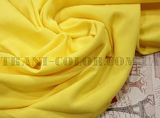 Тканина штапель жовтий