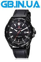 Мужские часы Naviforce Advanter Black 1 ГОД ГАРАНТИИ! (+Видео)
