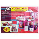 Кукольный домик Моя Любимая Вилла 2 этажа, 81-82-40,5см, фото 2