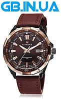 Мужские часы Naviforce Advanter Brown 1 ГОД ГАРАНТИИ! (+Видео)