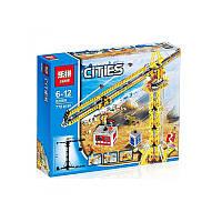 """Конструктор Lepin02069аналог LEGO City Сити 7905  """"Высотный кран"""", 778деталей"""
