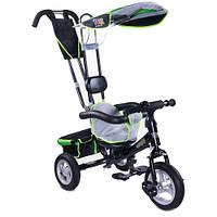 Детский трехколесный велосипед ToyzCaretero Derby - зеленый - ручка для родителей, корзина для мелочей