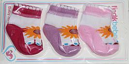 Носочки детские  для девочки 0-6 мес
