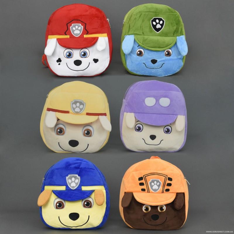 Детский рюкзак Щенячий патруль 555-14 Скай