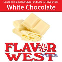 Ароматизаторы FlavorWest White Chocolate (Белый шоколад)