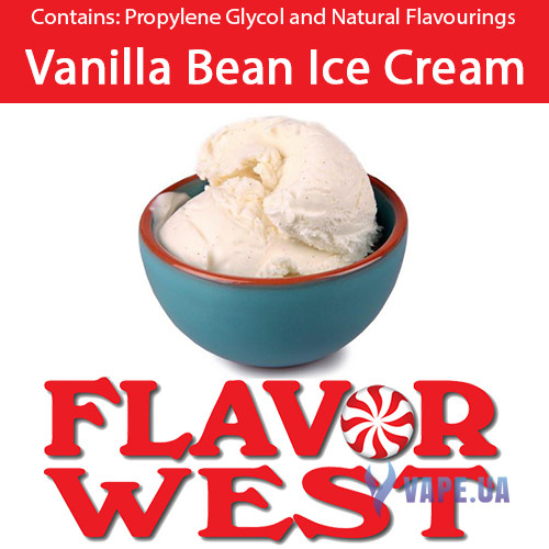 Ароматизаторы FlavorWest Vanilla Bean Ice Cream (Ванильное мороженое)