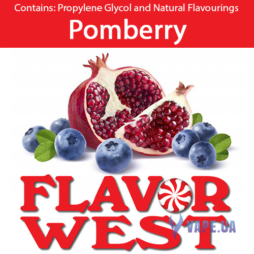 Ароматизаторы FlavorWest Pomberry (Гранат с ягодами)