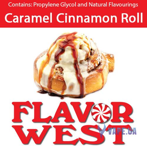 Ароматизаторы FlavorWest Caramel Cinnamon Roll (Булочка - карамель с корицей)