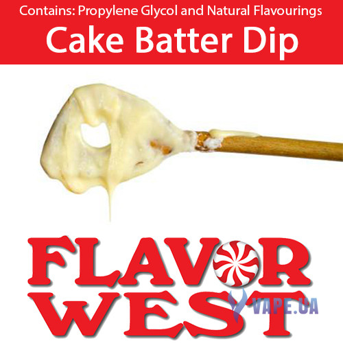 Ароматизаторы FlavorWest Cake Batter Dip (Крем для торта)