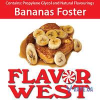 Ароматизаторы FlavorWest Bananas Foster (Банановый фостер)