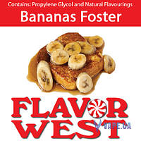 Ароматизаторы FlavorWest Bananas Foster (Банановый фостер) 10 мл.