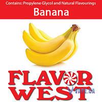Ароматизаторы FlavorWest Banana Split (Банановый сплит) 10 мл.