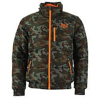 Куртка зимняя бомбер Everlast Bubble Camo XL Оригинал Камуфляжный цвет