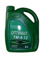Трансмиссионное масло Оптимал ТМ 4-12  80W85 4л