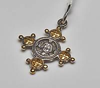 Акимовский крестик с позолотой