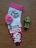 Носки детские тм Лютик  барашек  бело-розовые