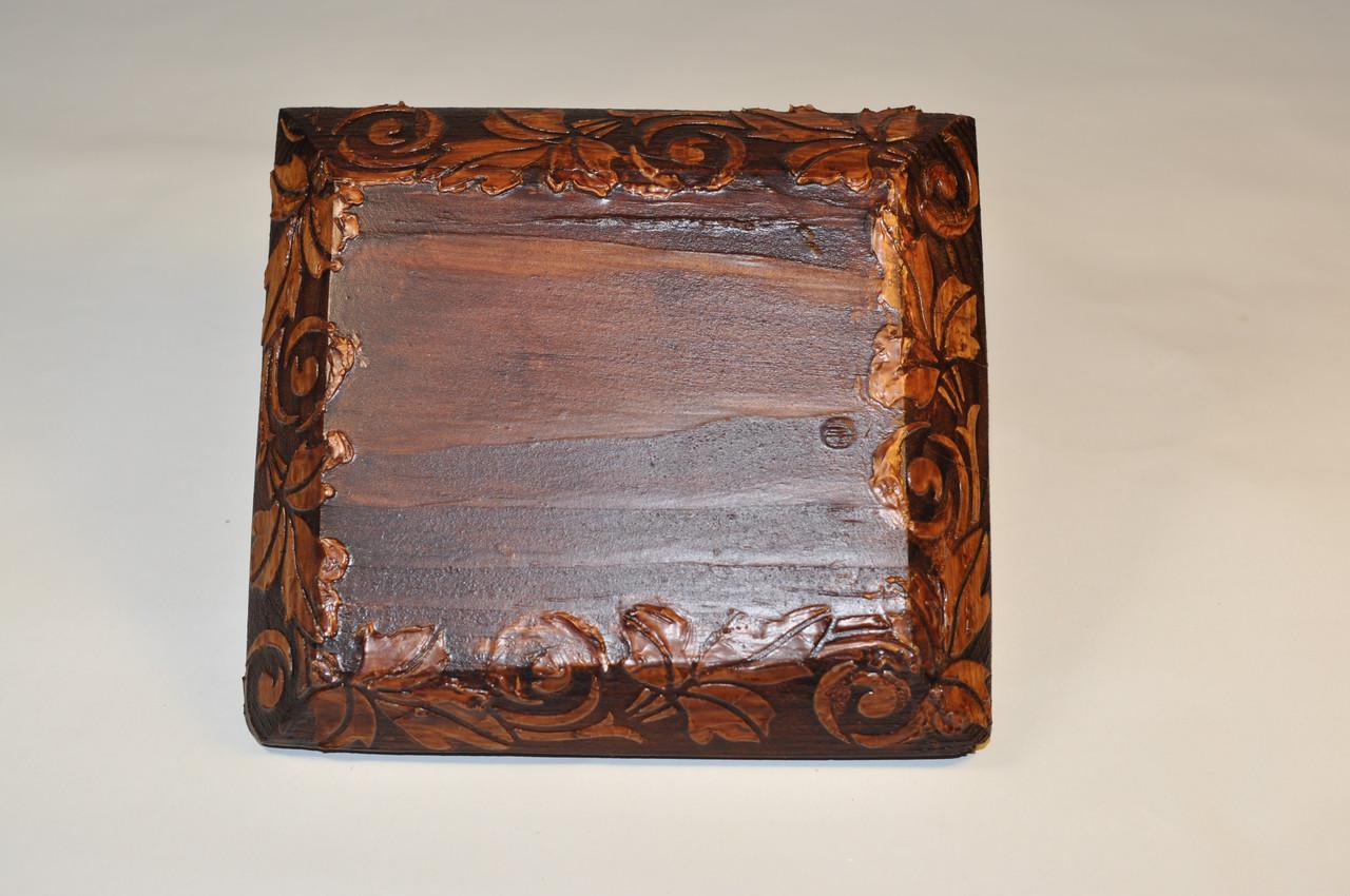 Рамка 1-місна для монтажу в дерев'яному зрубі