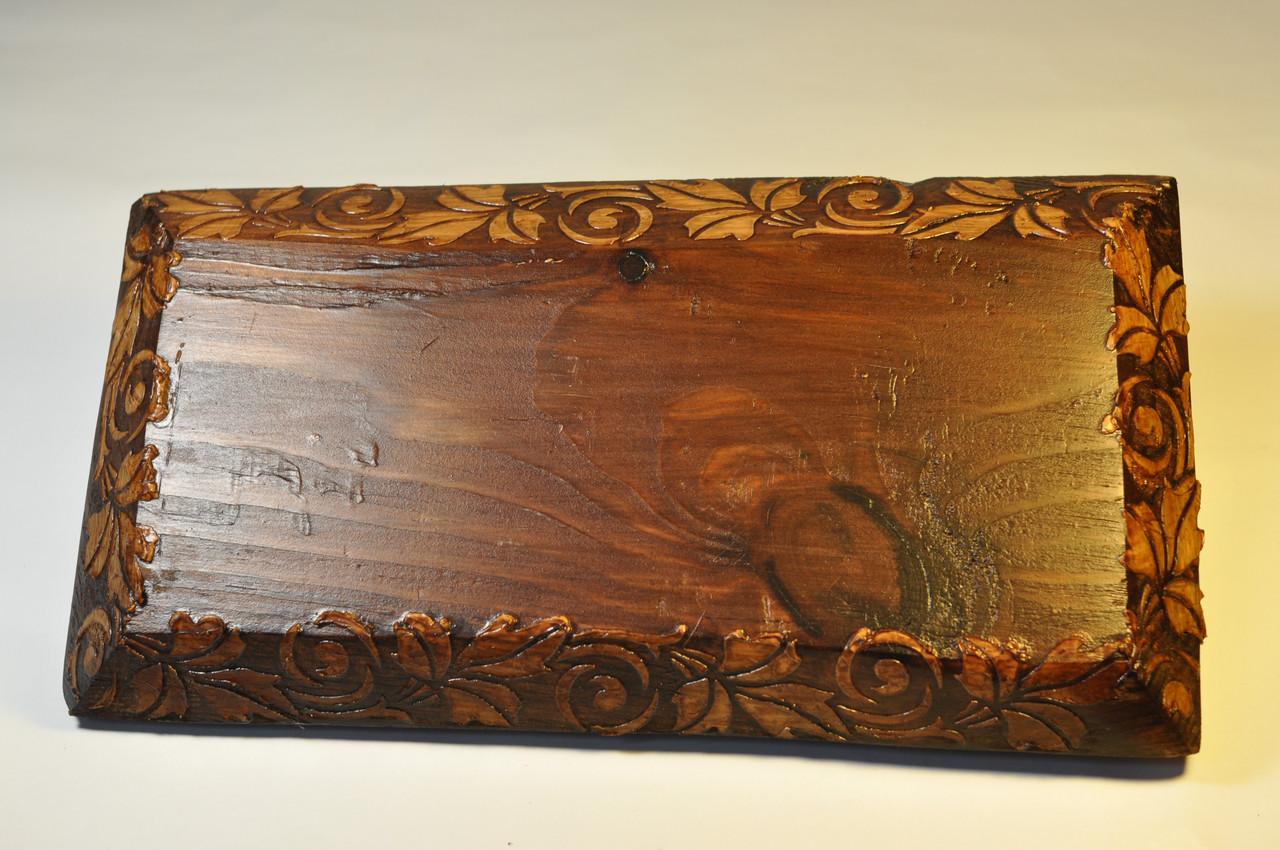 Рамка 2-місна для монтажу в дерев'яному зрубі